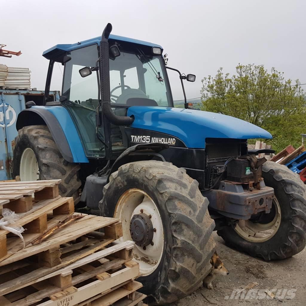New Holland TM 135 RC FOR PARTS ONLY