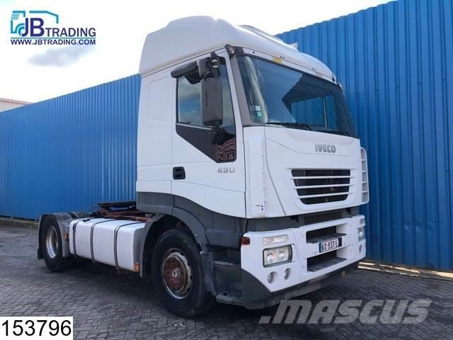 Iveco Stralis 430 AS, Manual, Airco, Hydraulic, Analoge