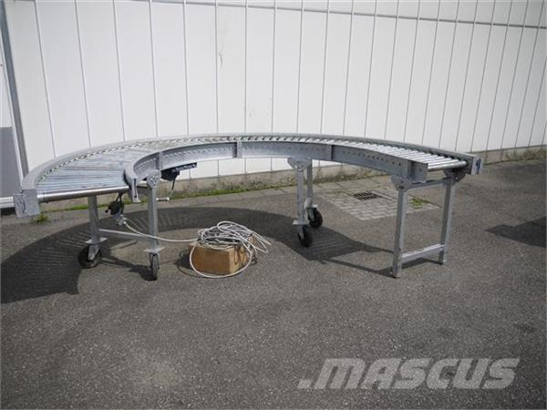 Rollenbochtbaan aangedreven 180 graden Duijndam Ma, Conveying equipment