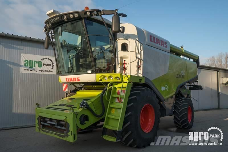 CLAAS Lexion 750 APS 4WD (984/1357 hours) Rotary combine