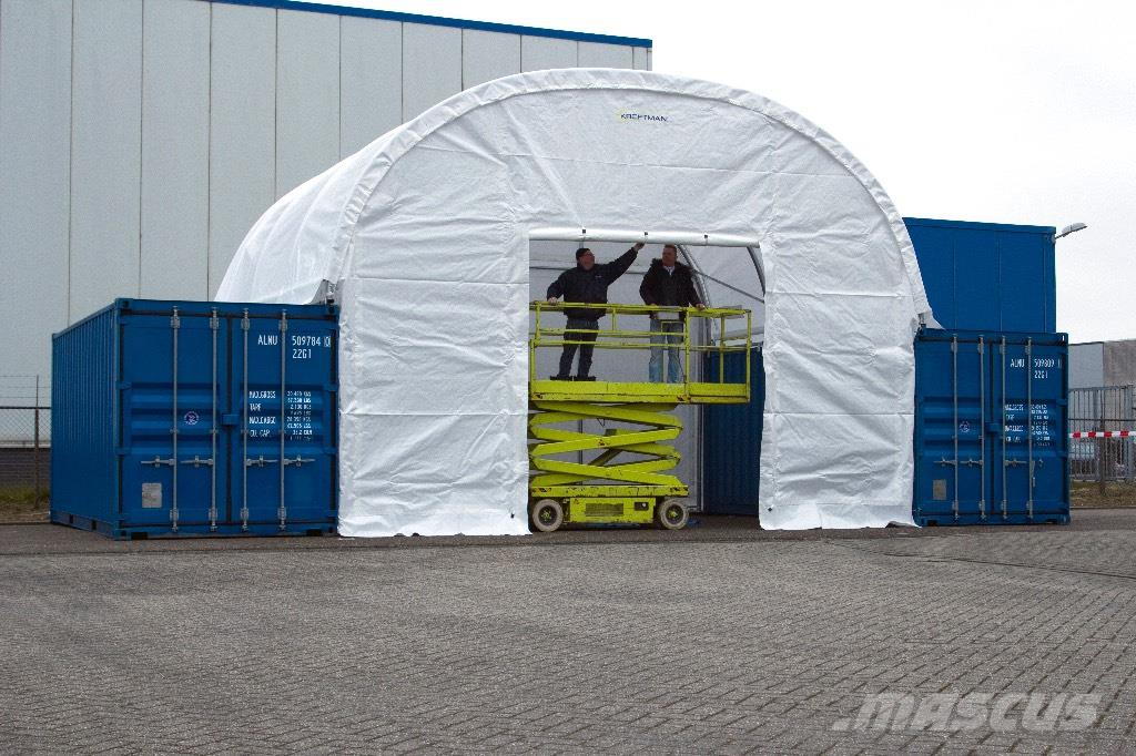 Used container shelter container overkapping 7 9m other for Construction container