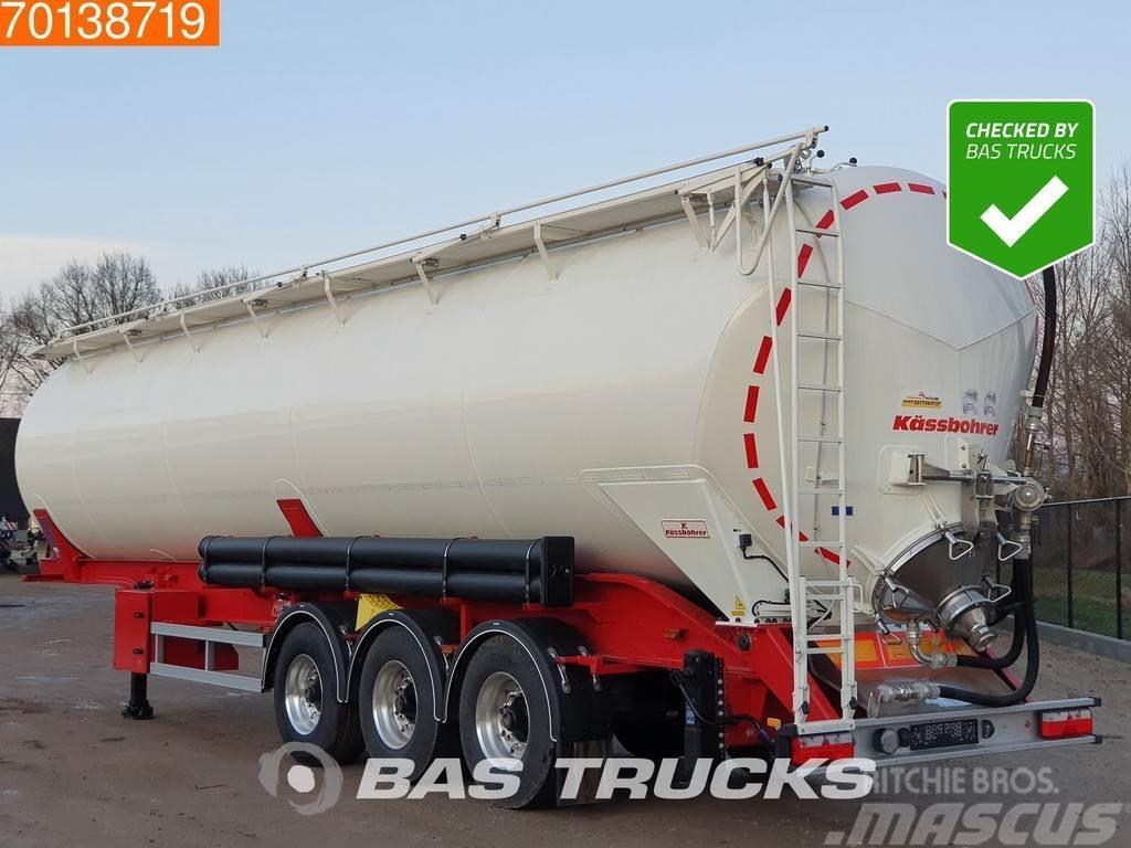 Kässbohrer SSK-60 3 axles 60m3 Kippsilo 24v Kipphydraulic Lif