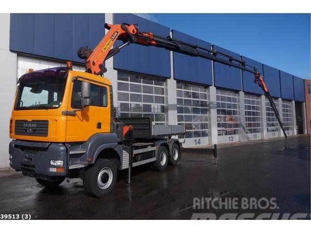 MAN TGA 33.480 6x6 Palfinger 44 ton/meter laadkraan +J