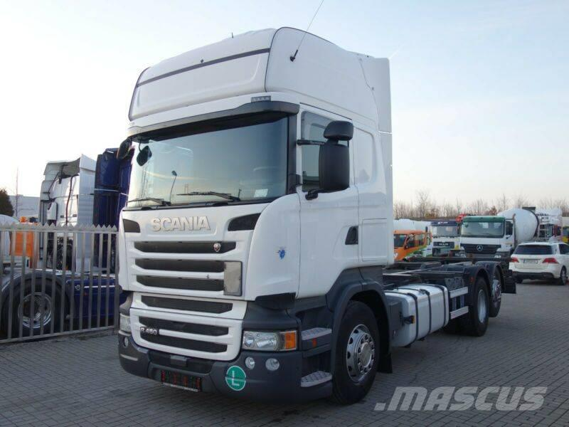 Scania R 450 6x2 Växelflaksbil