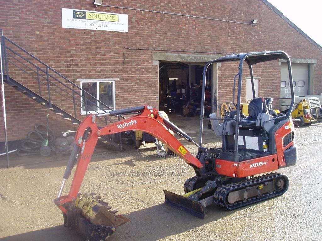 Kubota KX 015-4, 2013, Mini Excavators <7t (Mini Diggers) ...