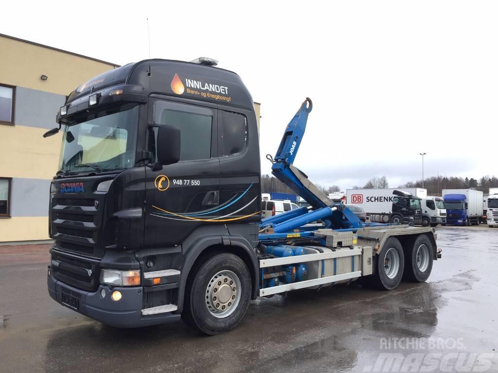 Scania R500 6x4+RETARDER+MANUAL