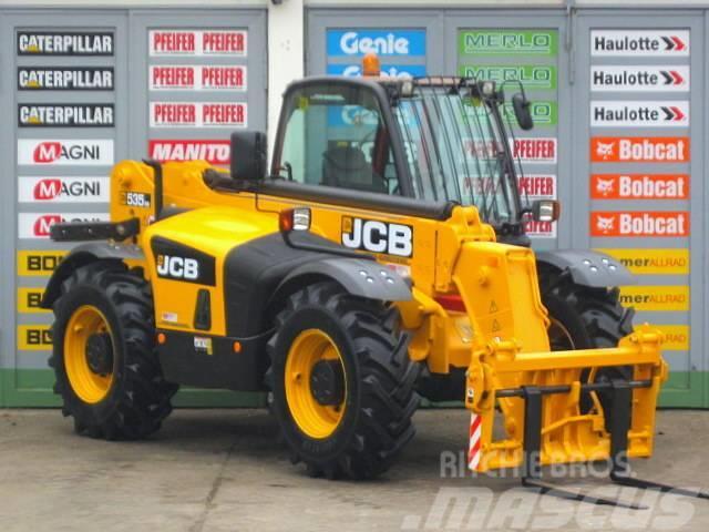 JCB JCB 535 - 95  4x4x4 ** 9.5m / 3.5t. ** Zusatzhydr.