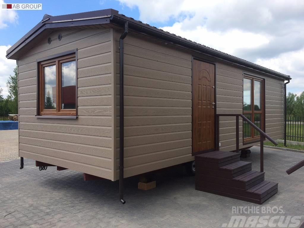 mobile home domek mobilny 9x3 5 kerrafront oliwka til. Black Bedroom Furniture Sets. Home Design Ideas