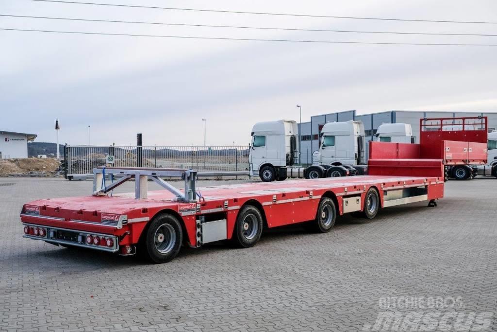 Langendorf - Fabriksny 4 axlad jumbotrailer 17,5 m