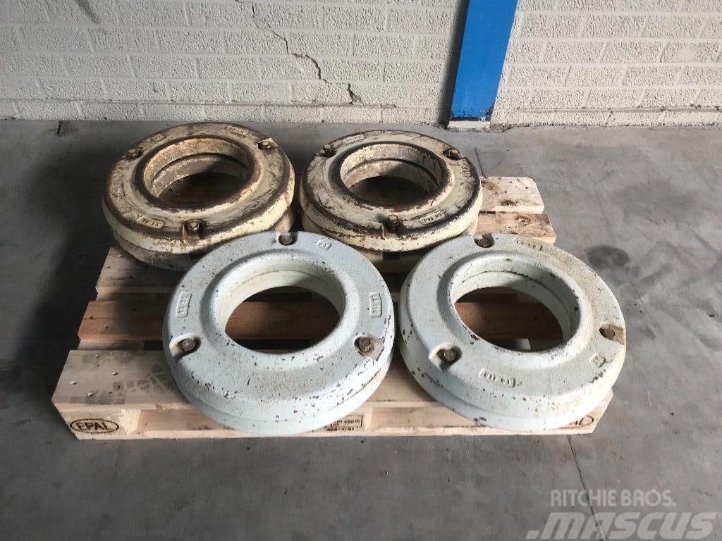 Fiat wheel weights