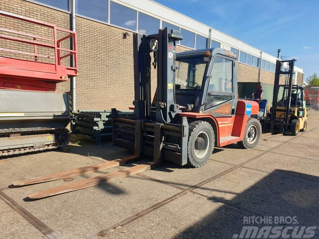 YTO 10tons heftruck diesel