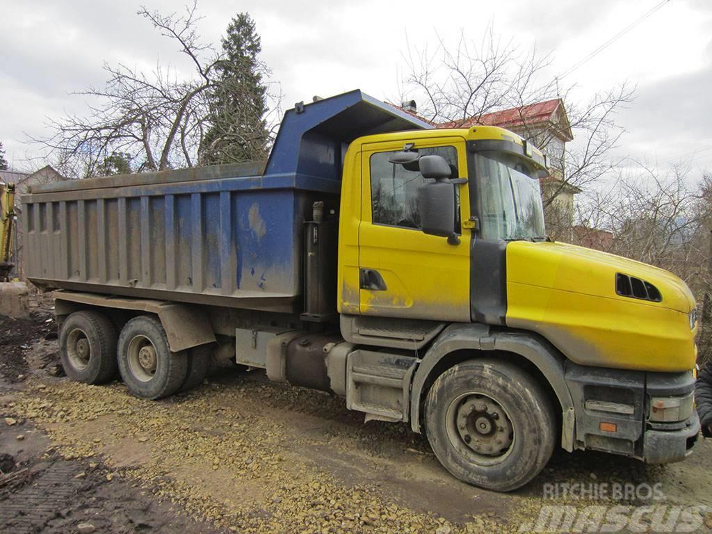 Scania T124 CB6 X 4NZ 360