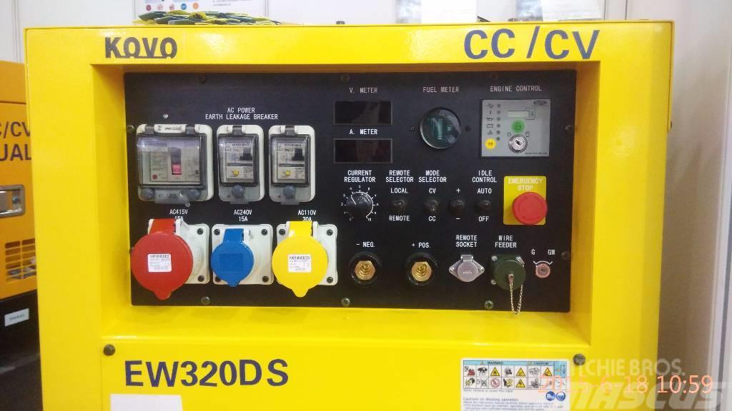 [Other] Japan Kubota welder generator plant EW320DS