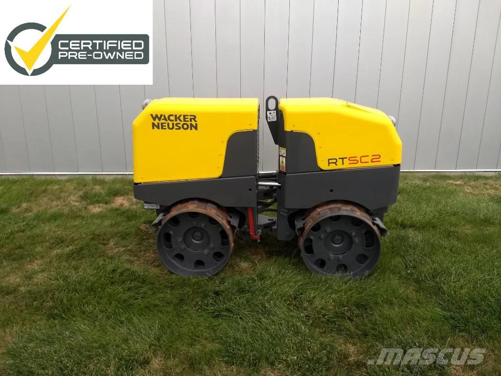 Wacker Neuson RTxSC2 Trench Roller