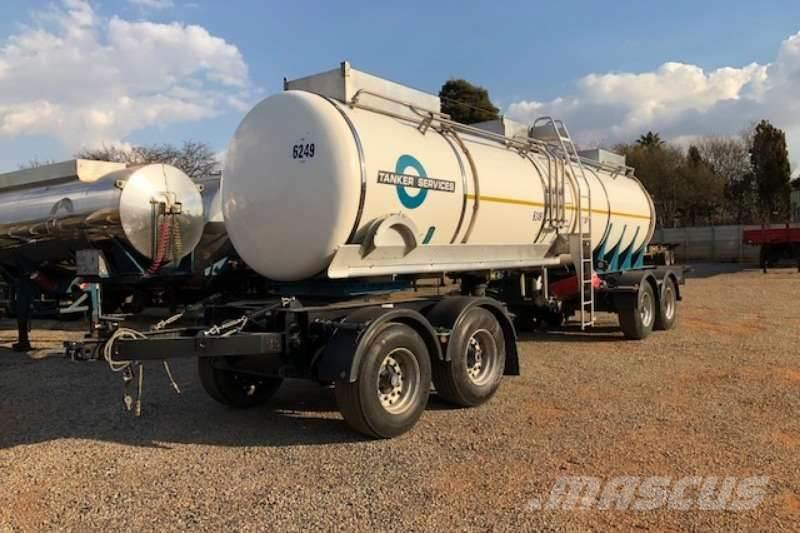 [Other] GRW 4 axle 20 000litre Oil Tanker Drawbar