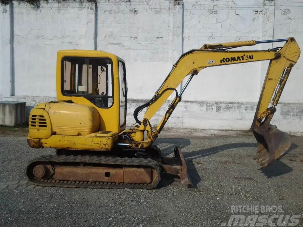 1995 komatsu pc45 mini excavator | item 4195 | 12-17-2009.