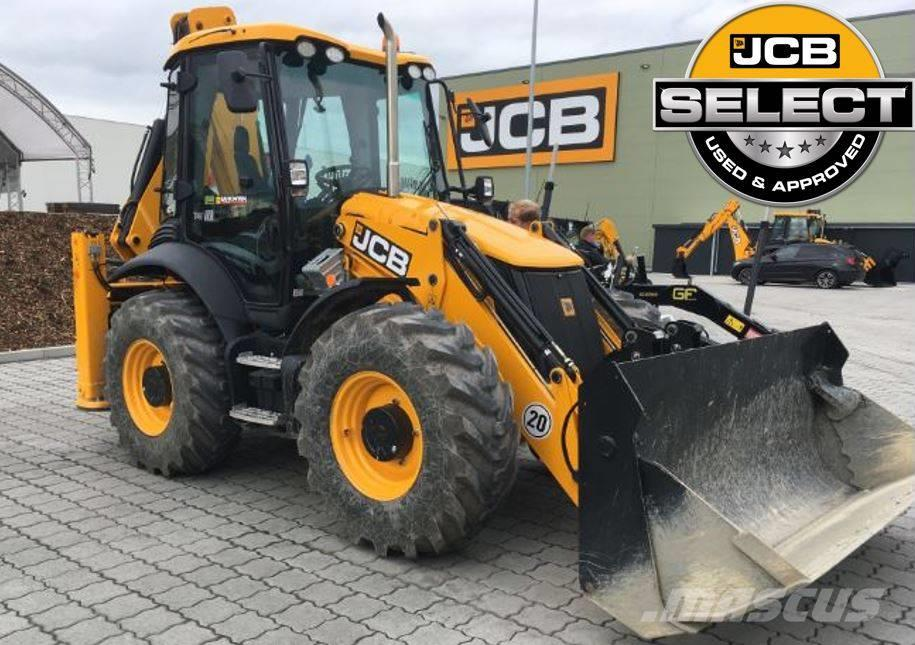 JCB 4 CX Demo 'Sitemaster' Adva EasyCon.  Powerslide