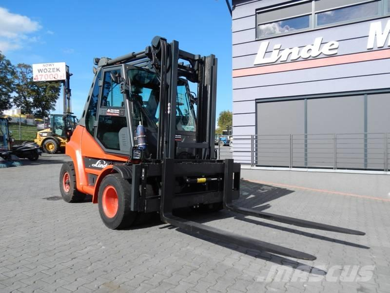 Linde H60D Side shift