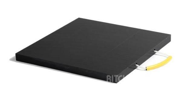 Köhler Abstützplatten / outrigger pads 60x60x4