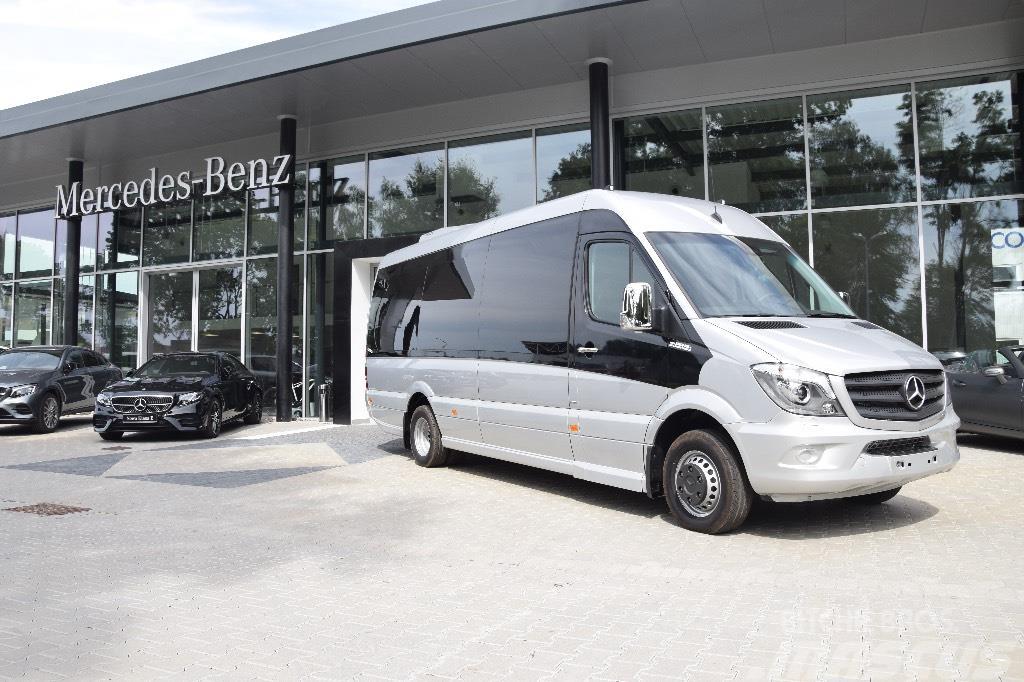 Used mercedes benz sprinter 519 cdi mini bus year 2017 for Mercedes benz sprinter service locations