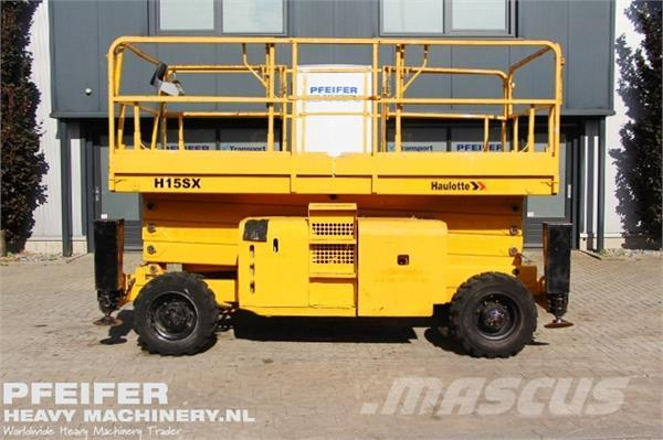 Haulotte H15SX Diesel, 4x4 Drive, 15m Working Height., Roug