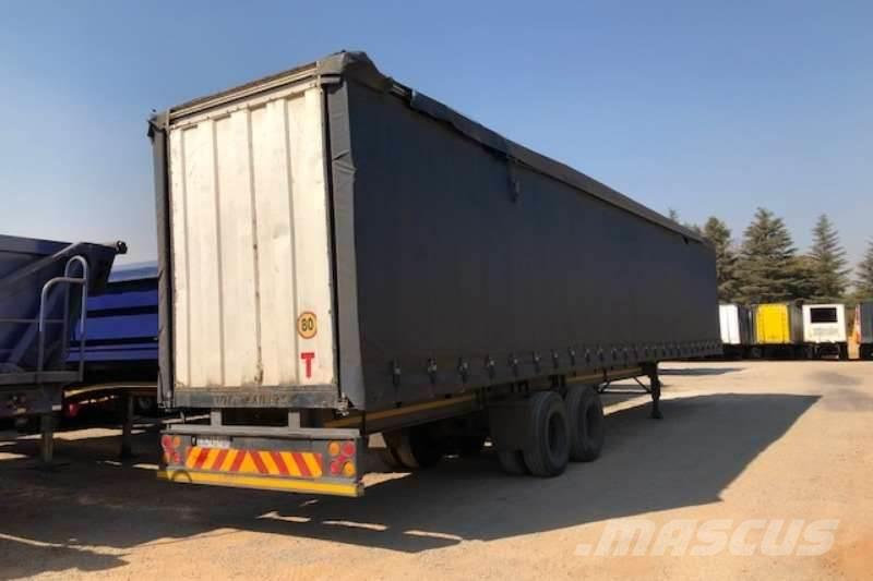 Top Trailer double axle Tautliner other trailers Year of