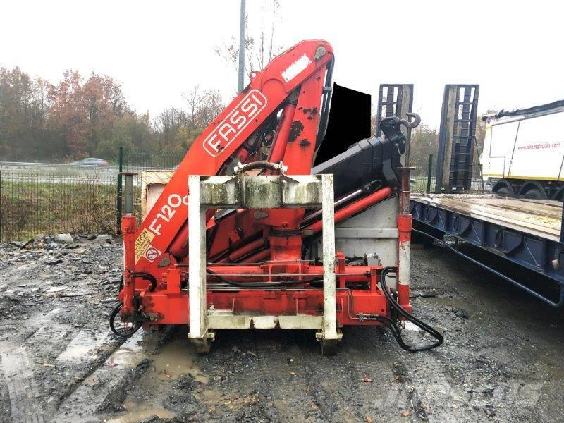 Fassi Caisson polybenne avec grue Fassi