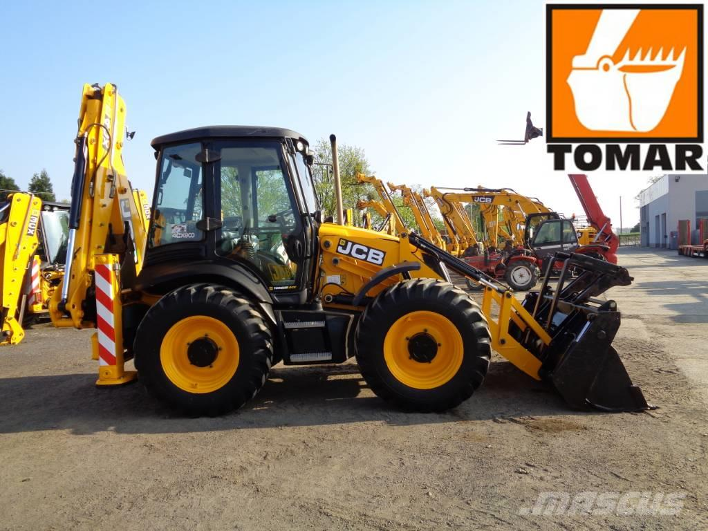 JCB 4CX | 3CX SITEMASTER CONTRACTOR CAT432F