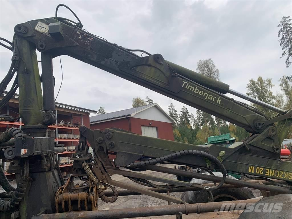 Timberjack 1110D Demonteras