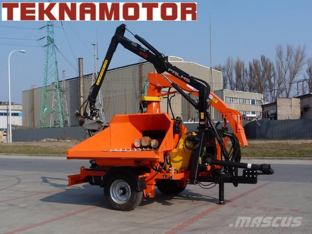 Teknamotor Skorpion 500 RB (wood chipper)