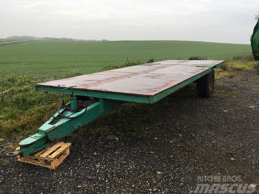 [Other] Halmvogn 7,5 meter med bremser