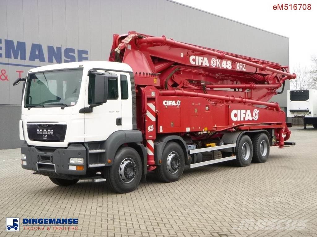 MAN TGA 41.430 Cifa concrete pump 48 m NEW/UNUSED