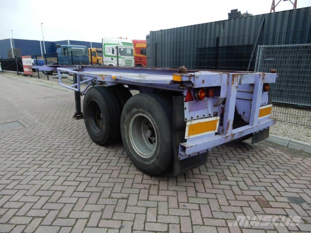 Pacton 20 FT chassis / Steel suspension / Double montage