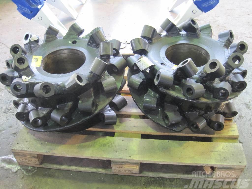 Schaeff WS 120 Abbruchtrommeln