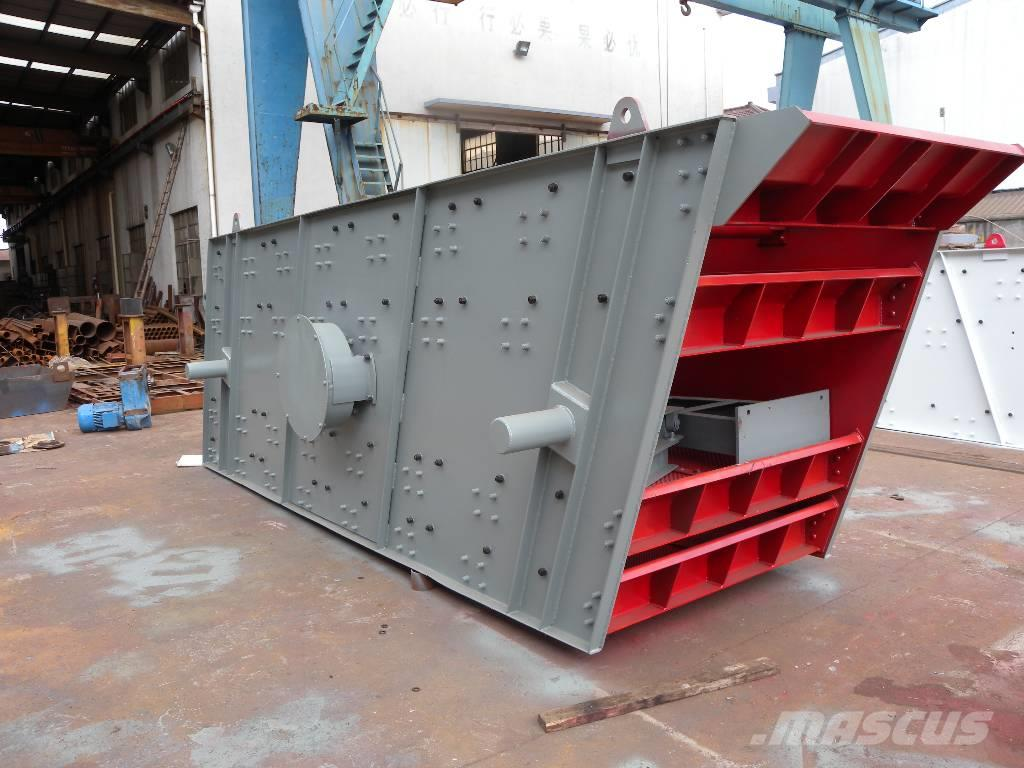 White Lai 4-Deck Vibrating Screen for 200t/h large capacity
