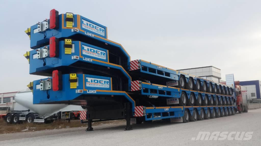 Lider 10Axle lowbed trailers