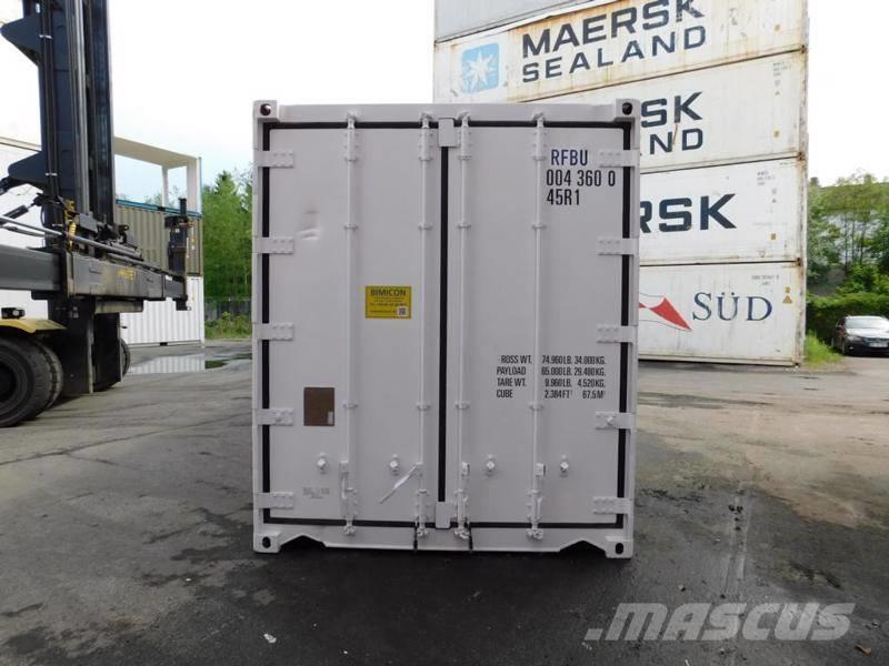 Carrier 40 Fuß HC Carrier Kühlcontainer TK Container
