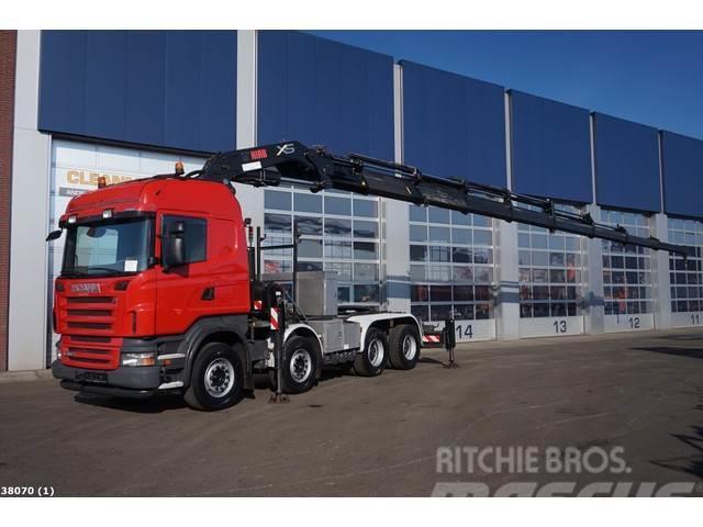 Scania R 480 8x4 Retarder Hiab 105 ton/meter Kran