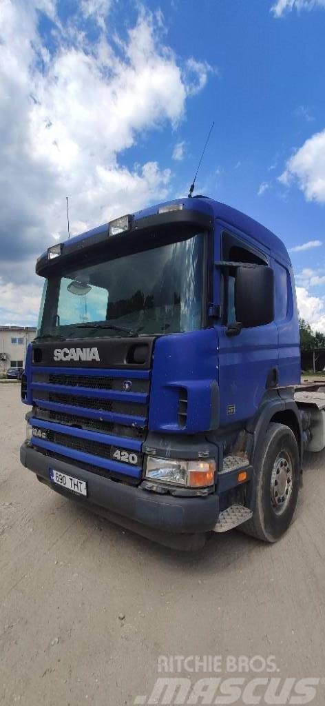 Scania P 124 GB
