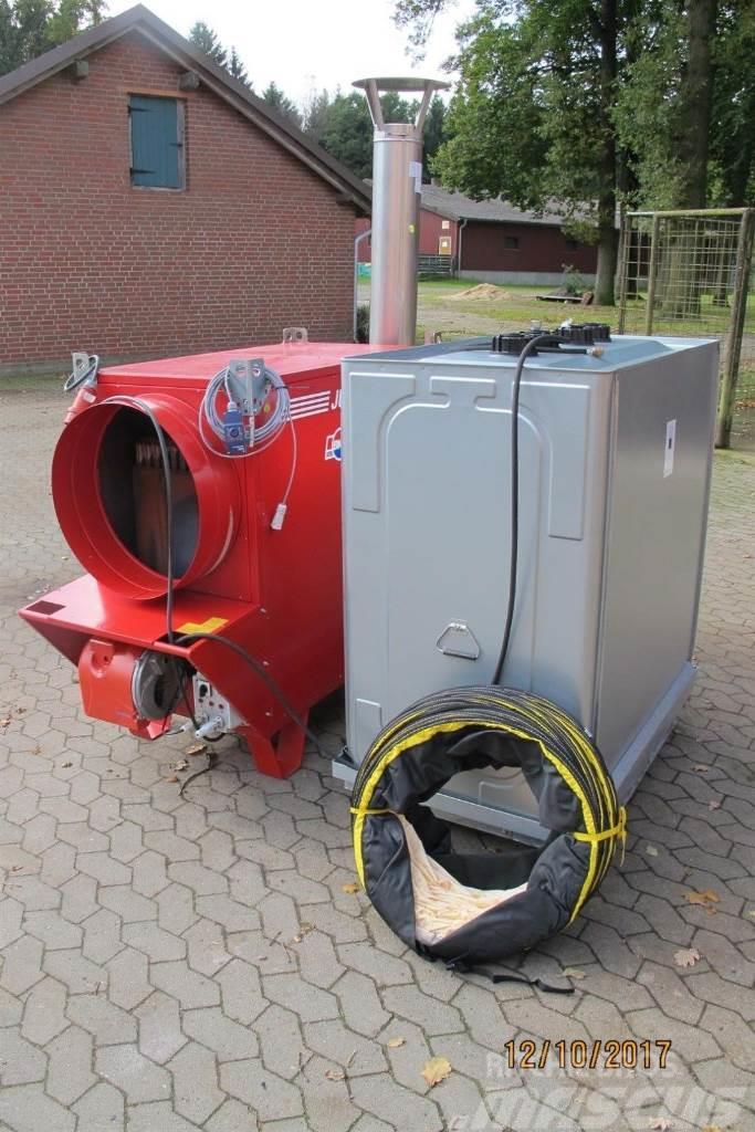 [Other] Heizung Komplett Set 174 KW Zeltheizung Jumbo 150
