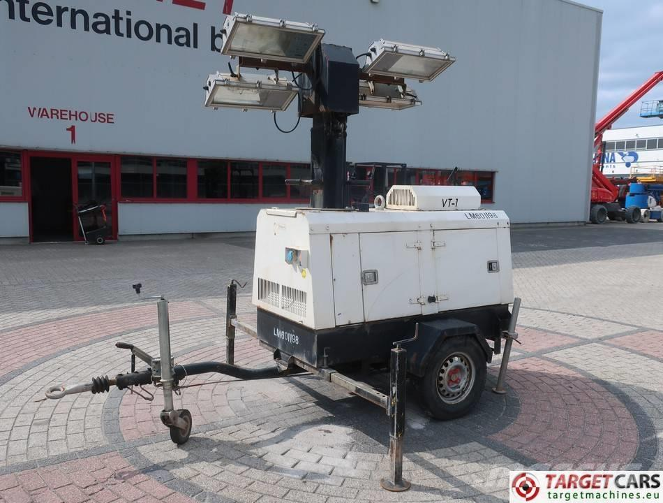 Towerlight VT1 MK1 Tower Light 4x1000W w/generator 9KVA