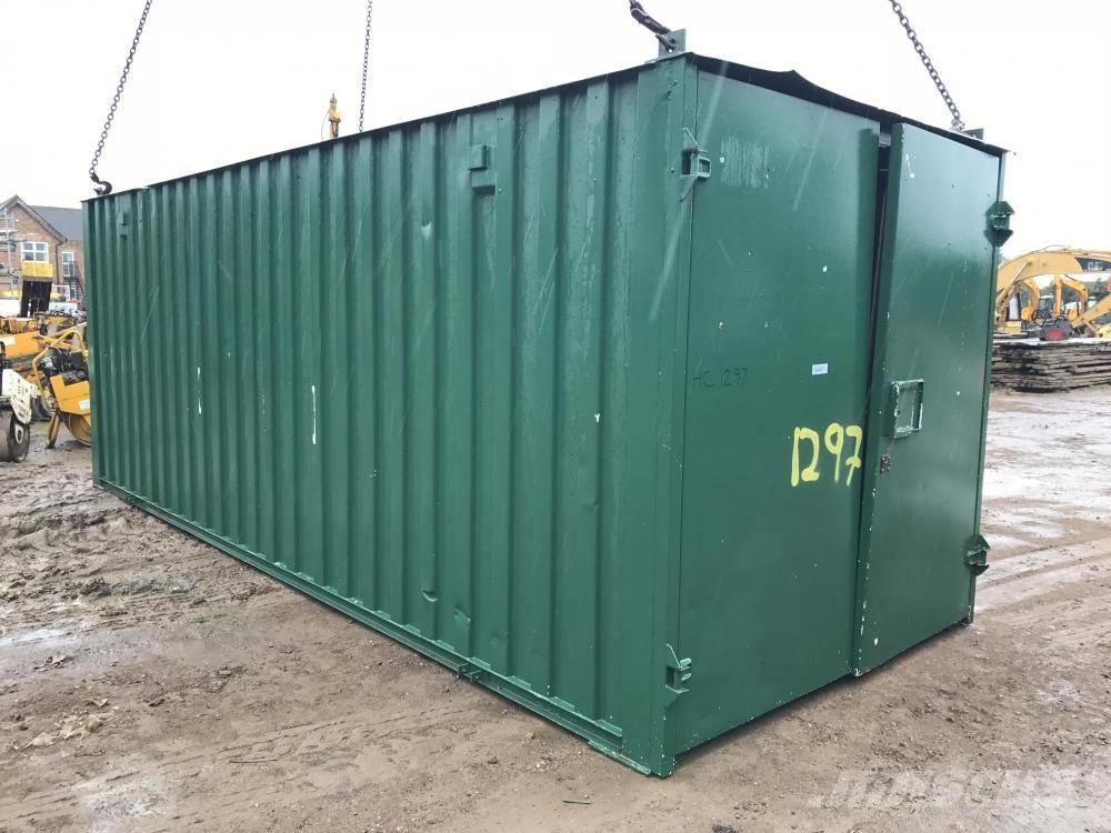 Used drying room storage container 20 x 8 other for sale for Construction container