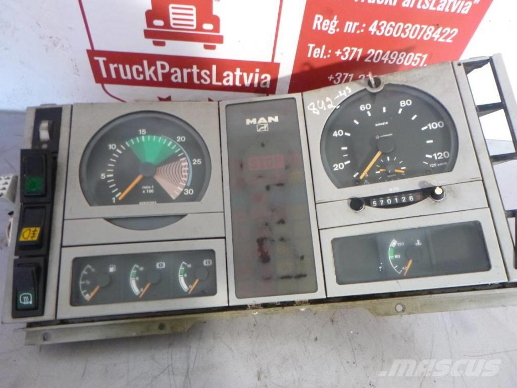 MAN LE160C DASHBOARD 81.27202.6081