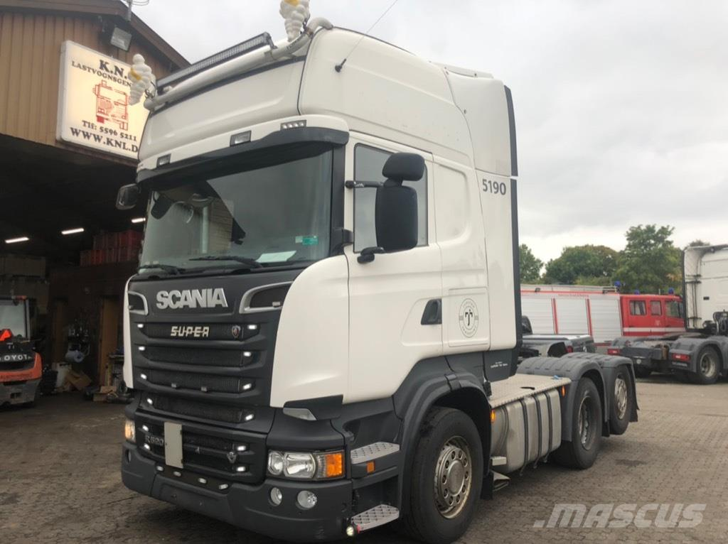 Scania R520 6x2 RETRADER - EURO 6