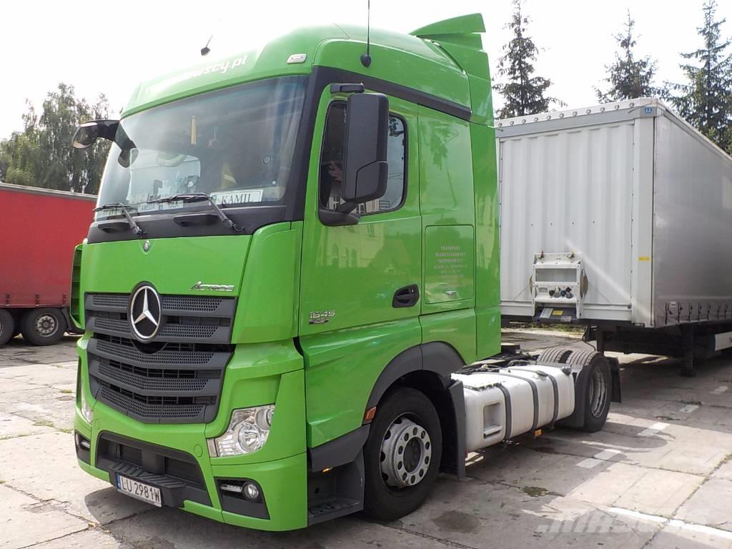 mercedes benz actros mp4 1845 l stream space low deck 2013 rok tractor units price 33 001. Black Bedroom Furniture Sets. Home Design Ideas