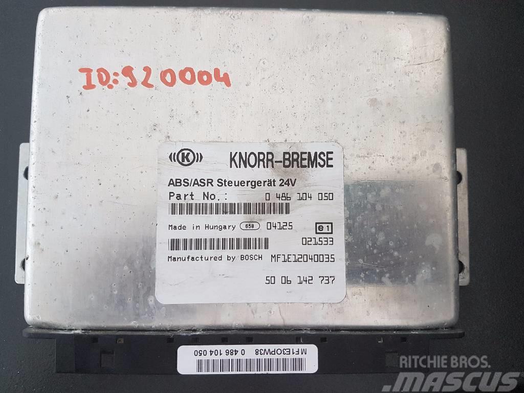 Irisbus ARES ECU ABS/ASR 0486104050, 5006142737