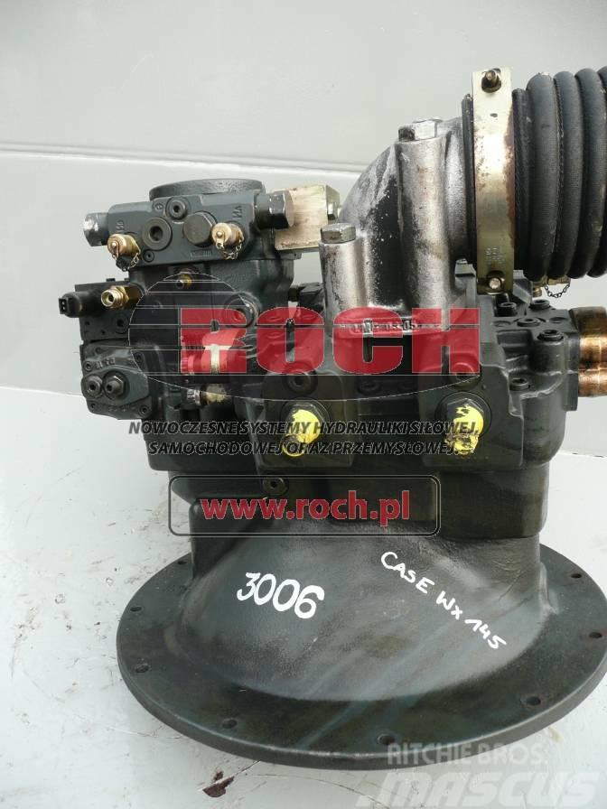 CASE WX 145 Pompa A8V 080  A4V G40