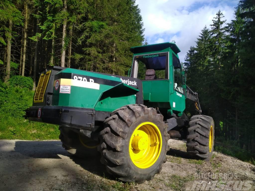 Timberjack Harvester 870b