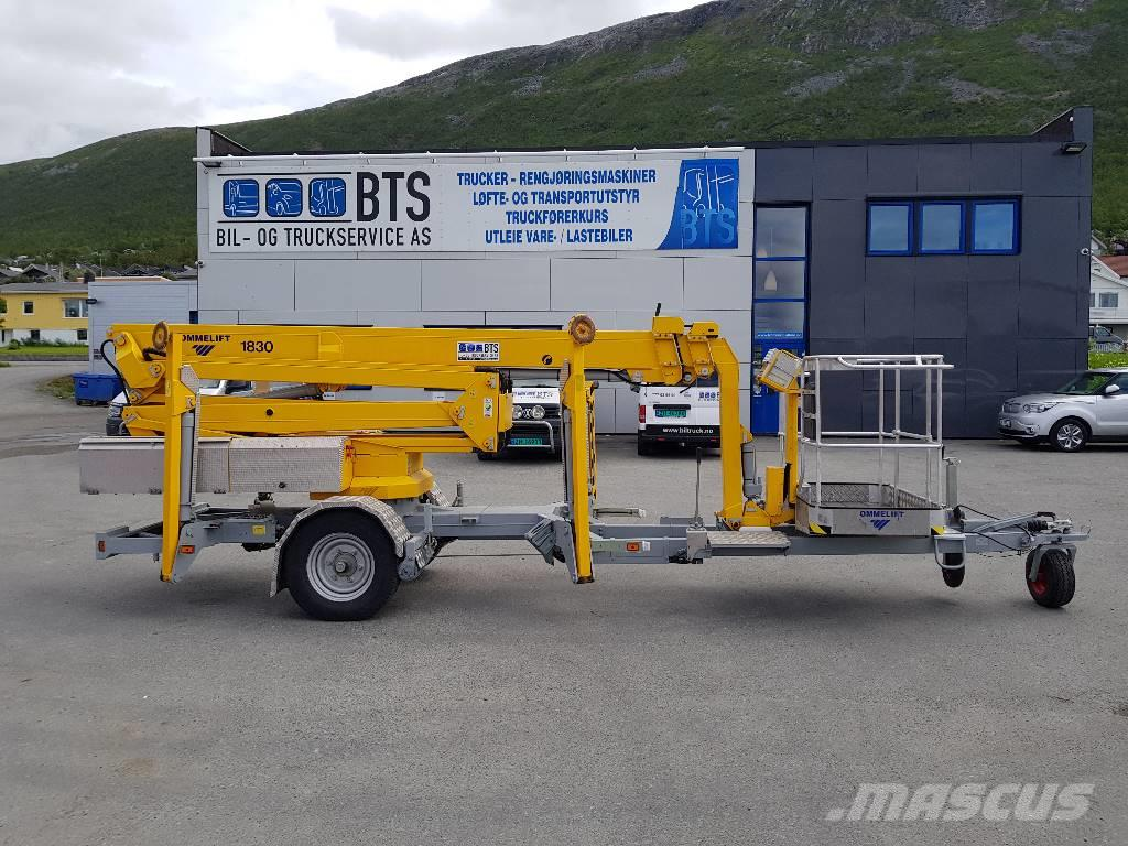 Omme 1830 EXB tilhengerlift (SOLGT)