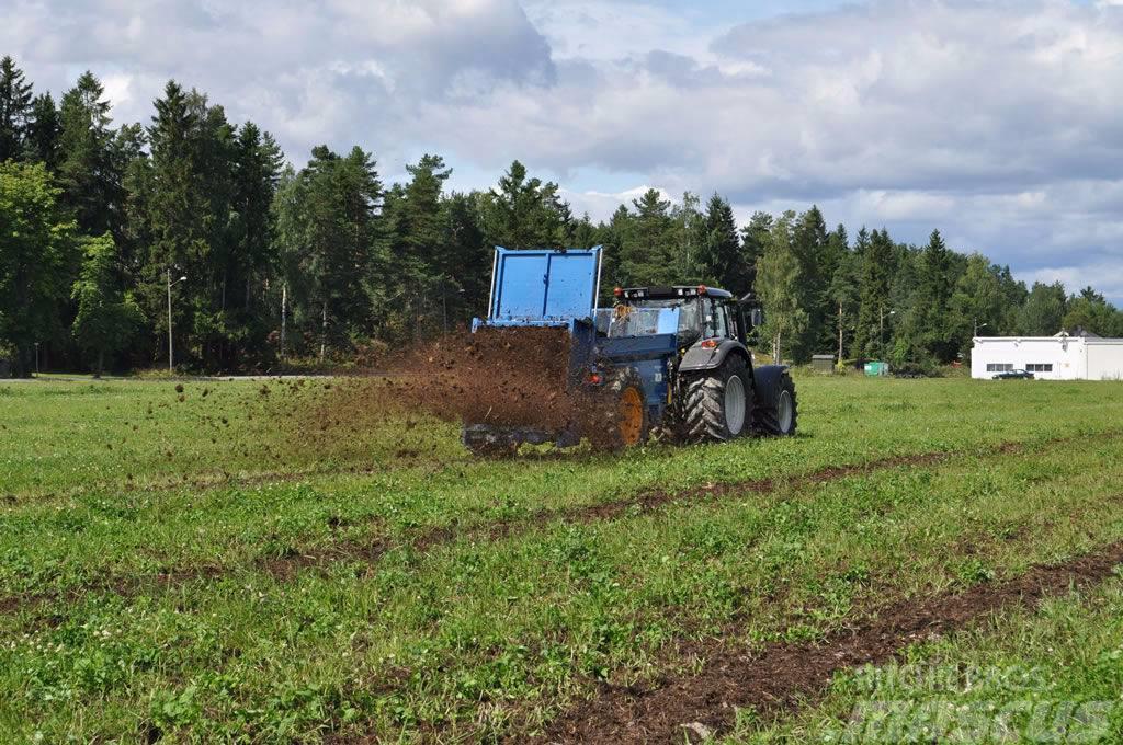 Bunning Lowlander Farmstar 60, 2017, Fast- och kletgödselspridare